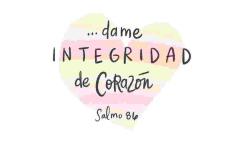 Dame integridad