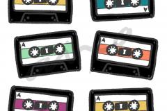 Cassettes Blanco
