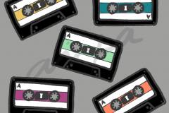 Cassettes Gris