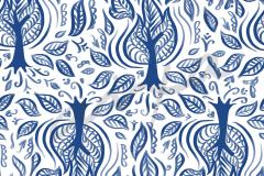 Zarza Ardiente Azul