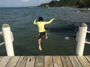 Salto. Foto por Aixa.